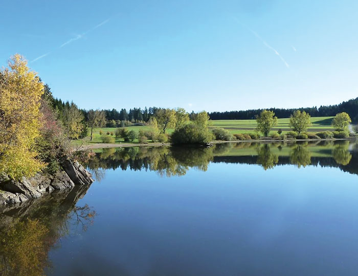 Kirnbergsee im Suedschwarzwald