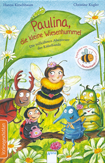 Buch Paulina die kleine Wiesenhummel