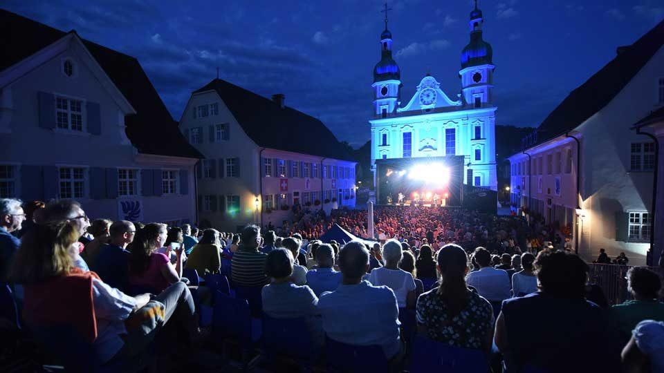 Domplatz in Arlesheim