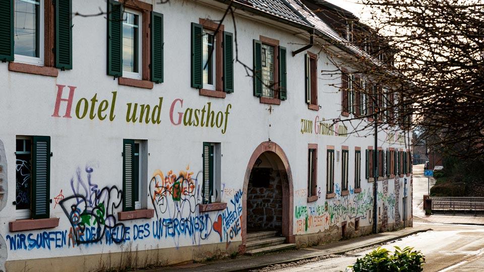 """Das Traditionsgasthaus """"Zum Grünen Baum"""""""