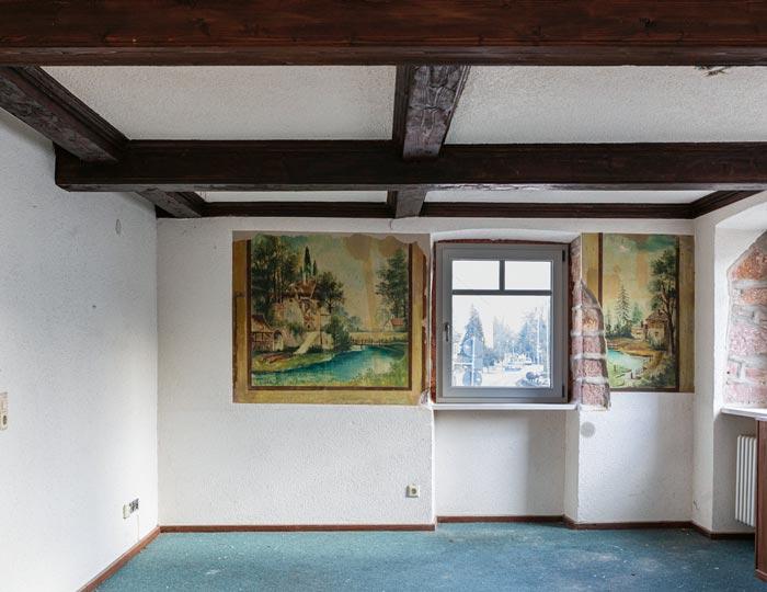 """Zimmer des Traditionsgasthaus """"Zum Grünen Baum"""""""