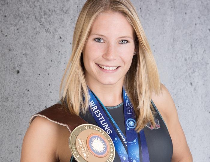 Athletin: Aline Rotter-Focken