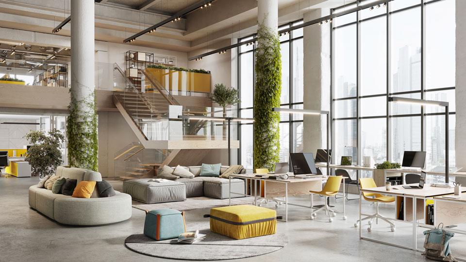 moderne Büros