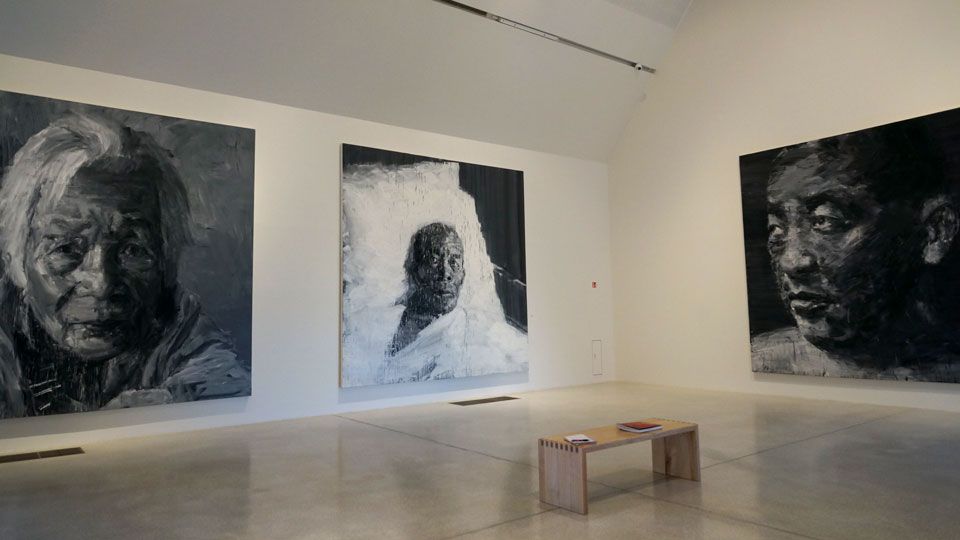 Ausstellung von Yan-Pei-Ming