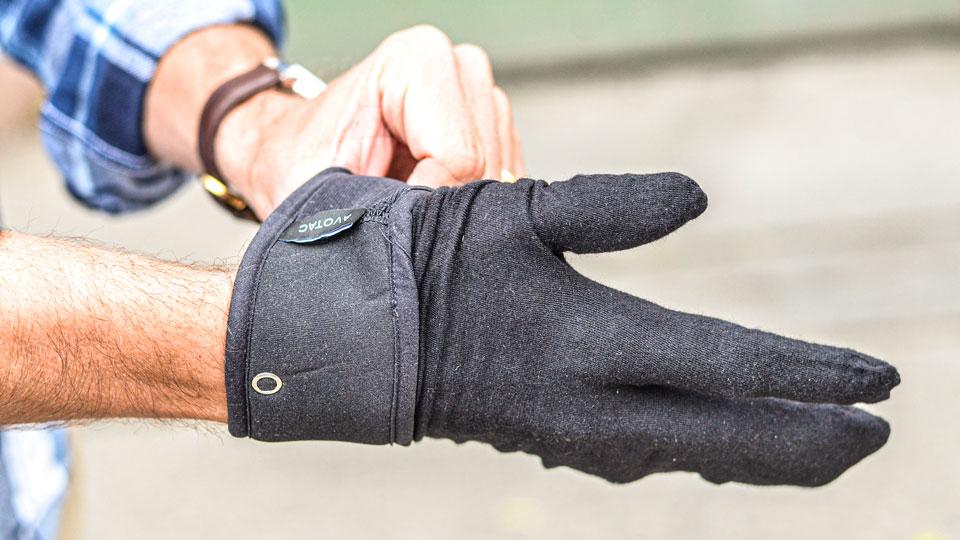 Avotac Handschuh von Start Up in Freiburg