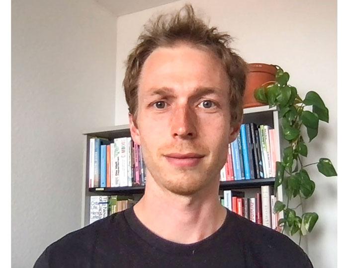 Benedikt Schmid von der(GWÖ)-Bewegung.