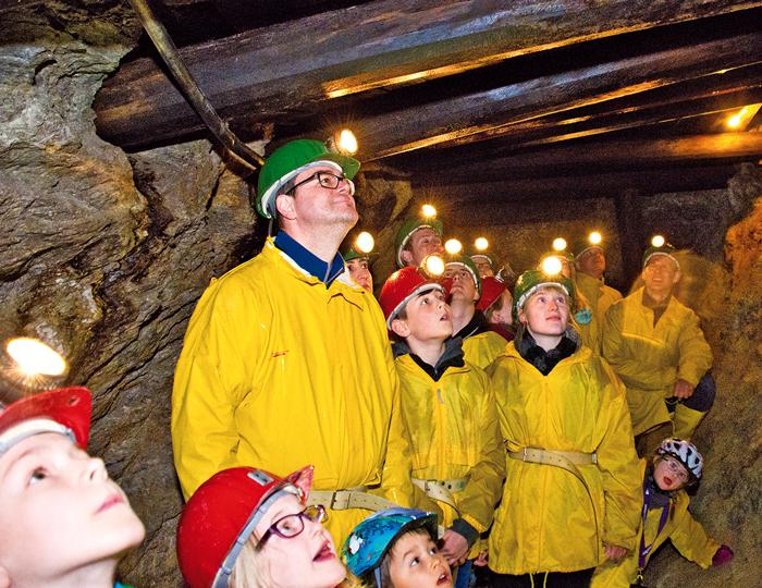 BergbauTour durch Bergbau in Oberwolfach