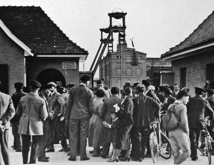 Bergbau Werksgelände in Buggingen