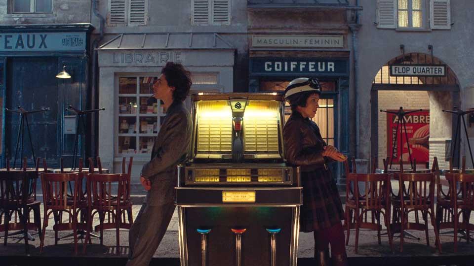 """Szene aus """"The French Dispatch"""""""