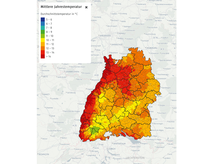 Lokales Klimaportal