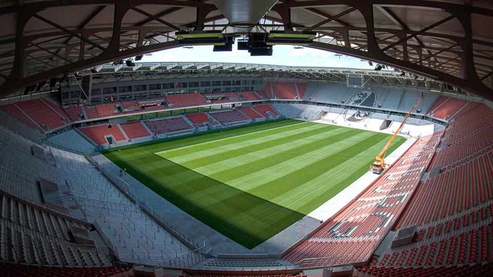 Das neue Stadion des SC Freiburgs