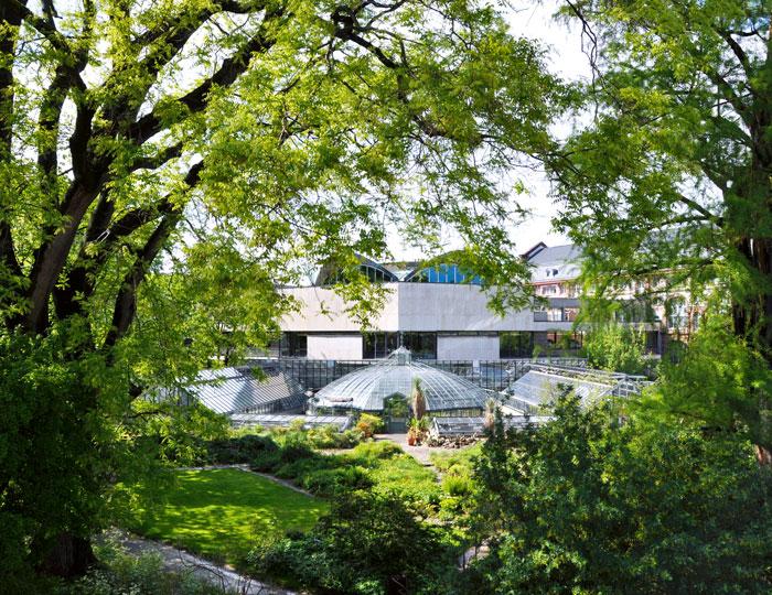 Außenansicht: Botanischer Garten Basel