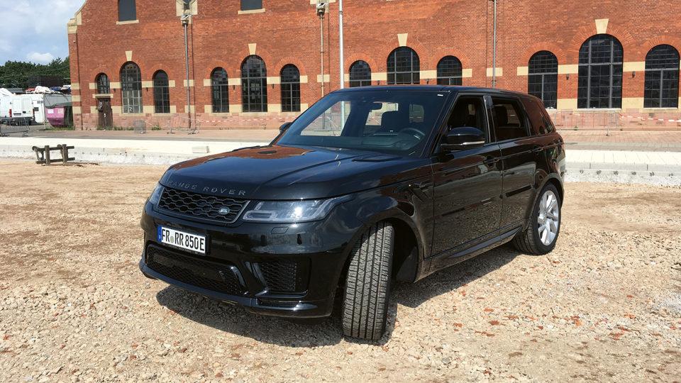 Land Rover im Car check