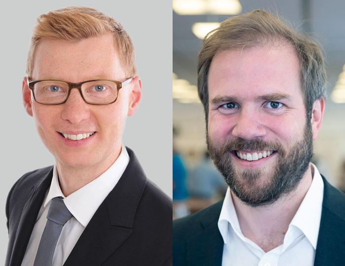 Christian Tennert und Johann Wölber