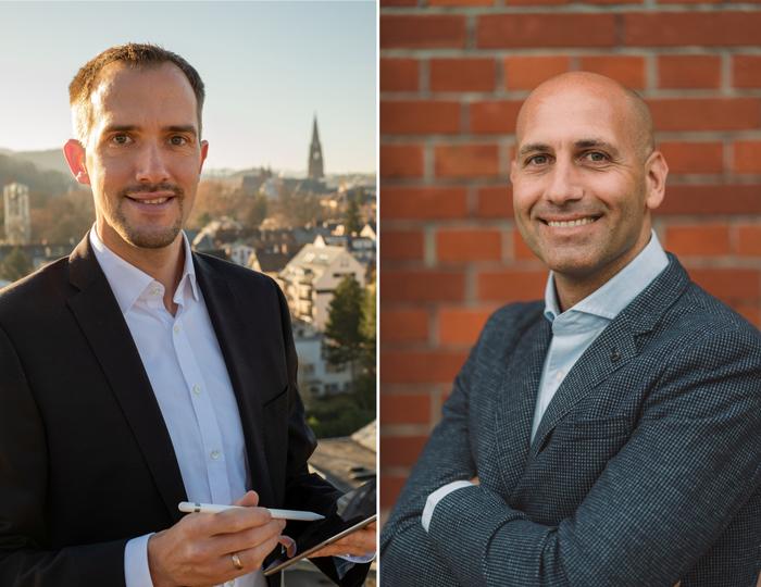 Die Freiburger Patrick Bronner und Dejan Mihajlovic