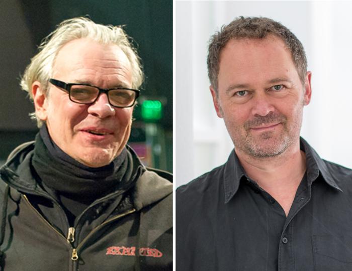 Franck Mitaine und Tilo Buchholz.