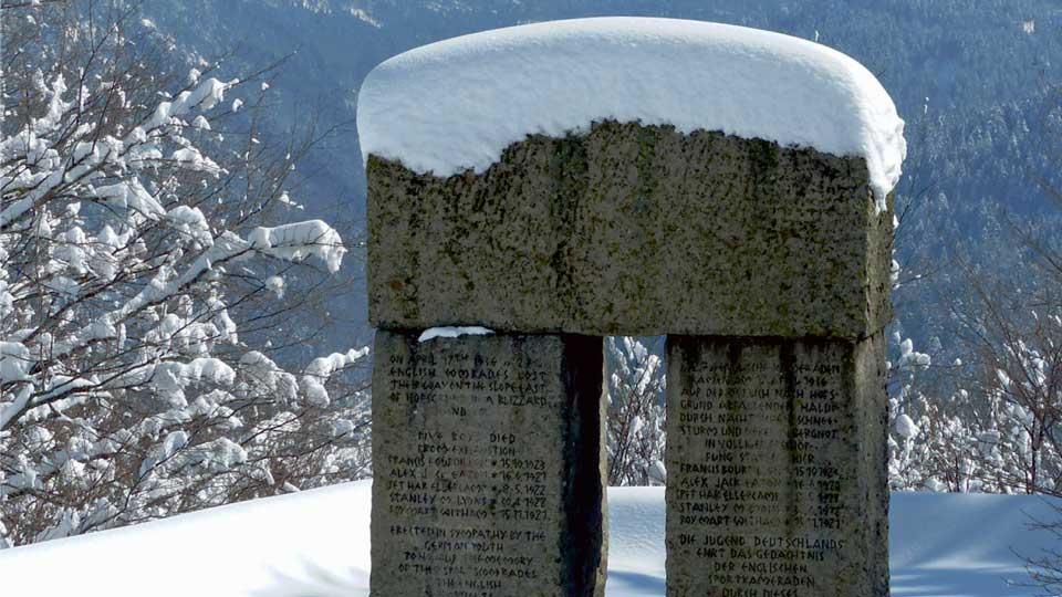 """Ausschnitt des Buchcovers """"Tod am Schauinsland"""""""