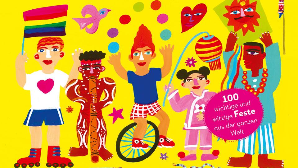 Buch Cover: Wir feiern! Ein Jahr, viele bunte Feste