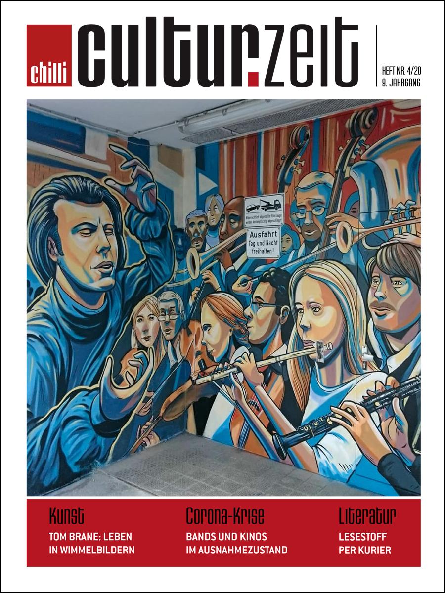 Culturzeit Ausgabe April/Mi 2020 cover