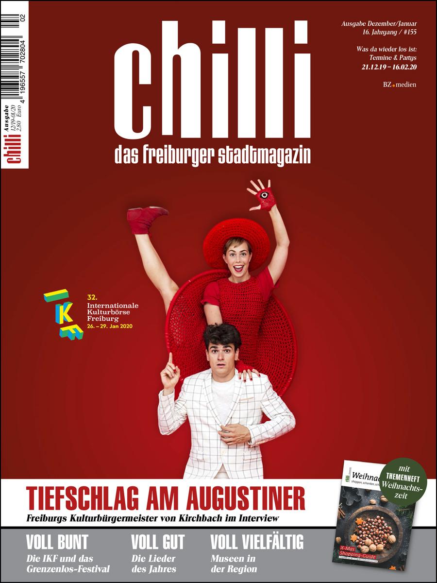 cover Culturzeit Ausgabe Dezember 2019 / Januar 2020