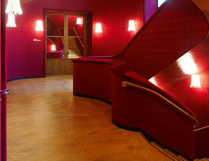 Treppenhaus von dem neuen Casino