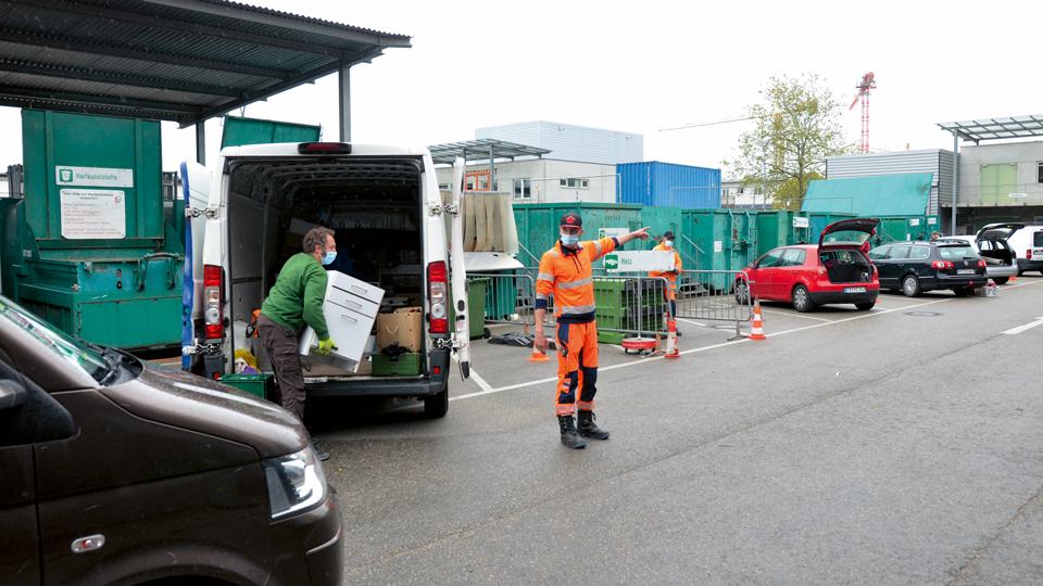 Recyclinghof Freiburg