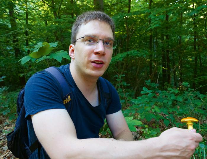 Dennis Regul erklärt unterschied zwischen den Pilzsorten