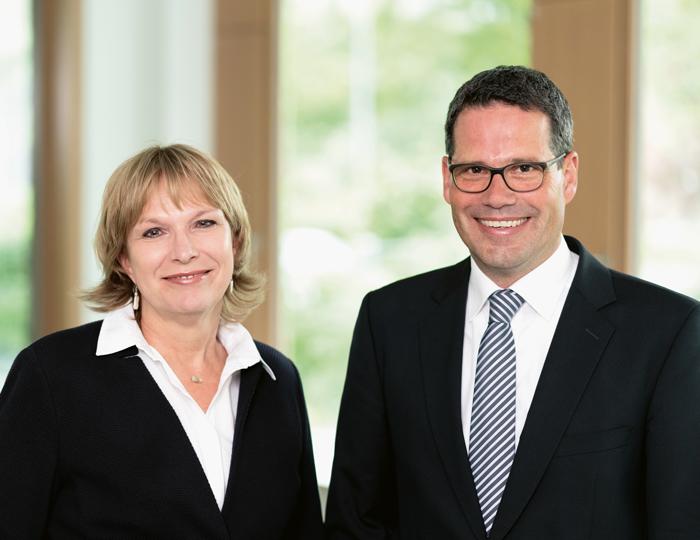 Anja Dzillloß und Alexander Ehrlacher