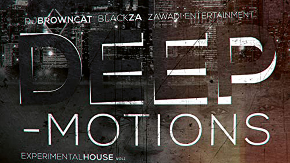 Album Cover Deep-Motions Experimental House Vol 1