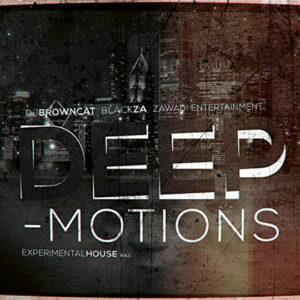 Album Cover Deep-Motions Experimental House Vol 1