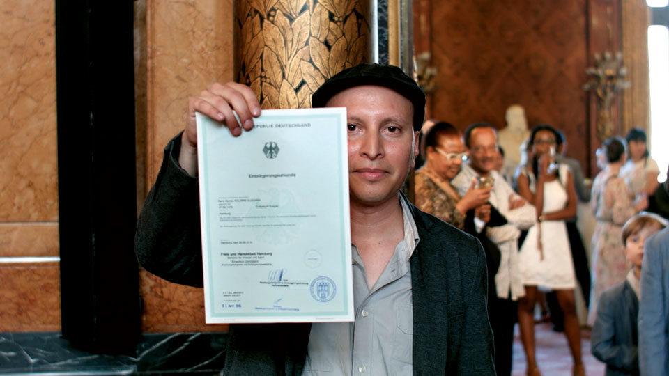 Einbürgerungsfeier Dario