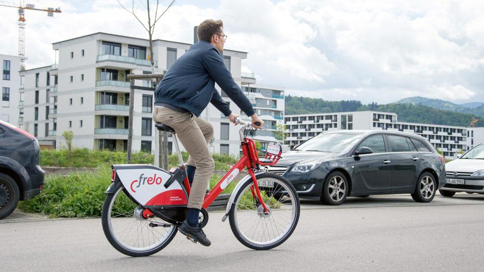 Fahrräder Frelo zum ausleihen