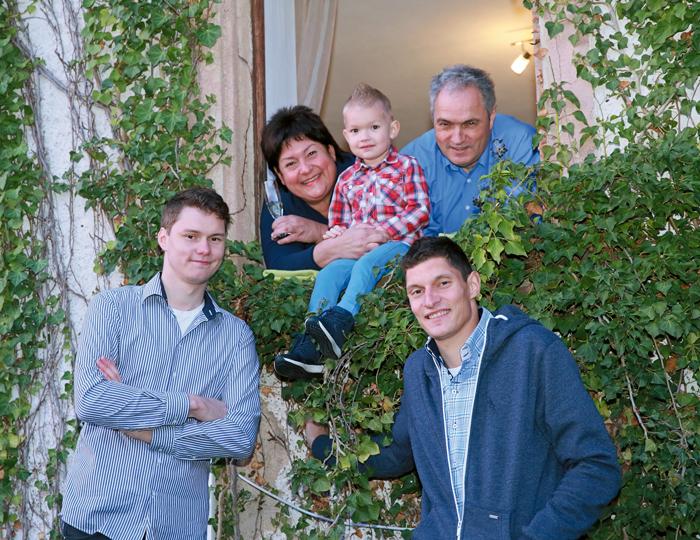 Familie vom Franz Xaver Hof in Waldkirch-Buchholz