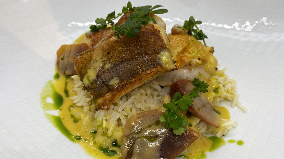 Fischcurry mit Limettenreis von Thomas Merkles Küche