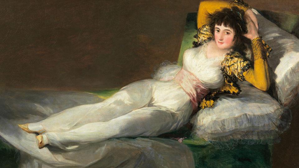 Francisco de Goya Bekleidete_Maya La maja vestida