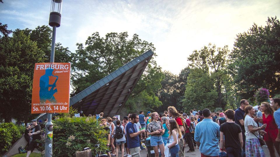 Freiburg stimmt ein Mitmachfestival in Freiburg
