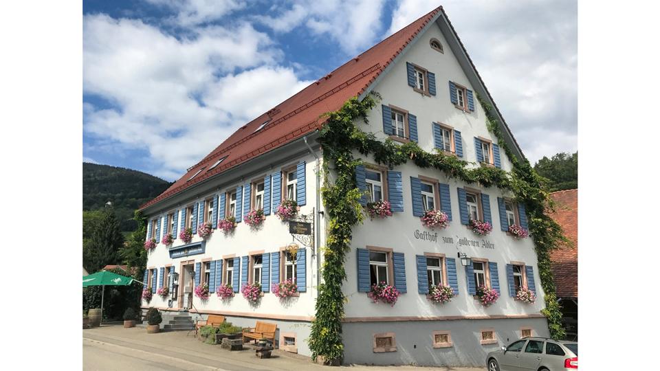 Gasthaus Goldene Adler in Oberried von aussen