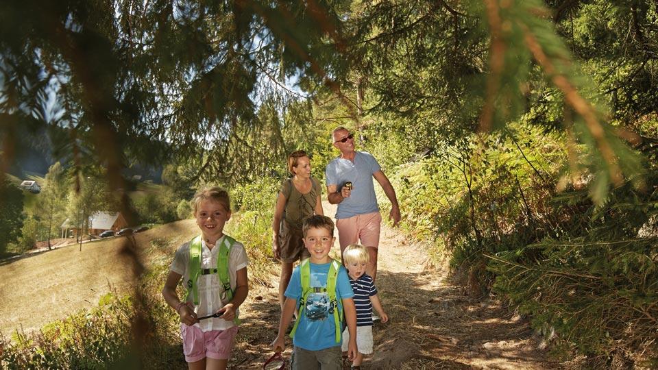 Geocaching mit der Familie