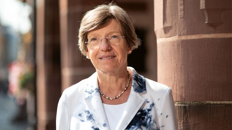 Gerda Stuchlik Umwelt- und Bildungsbürgermeisterin in Freiburg
