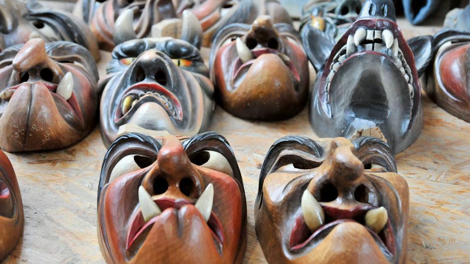 Hexenmasken