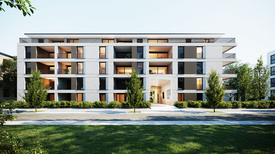 Visualisierung IKS Kirschner Wohnbau
