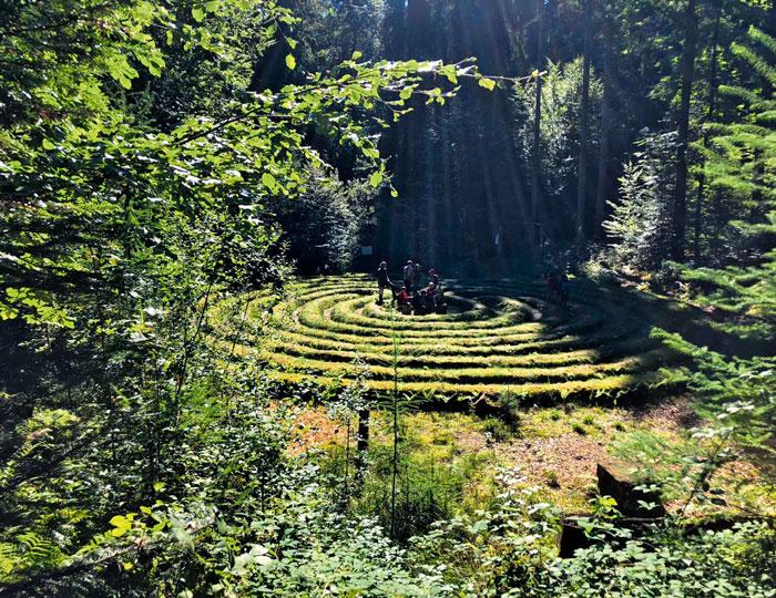 Labyrinth Erlebnispfad