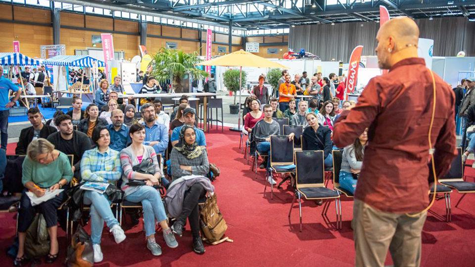 Vortrag in der Sick-Arena Freiburg