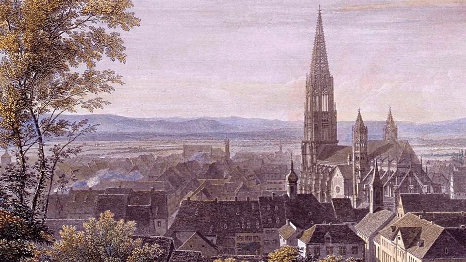 Cover-Ausschnitt: Freiburg– kleine Stadtgeschichte