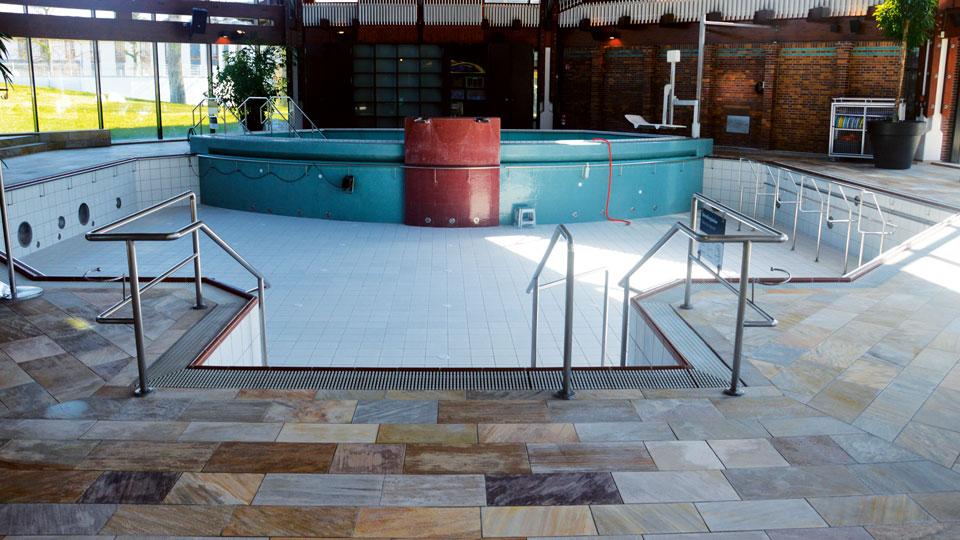 Keidel-Therme Schwimmbecken