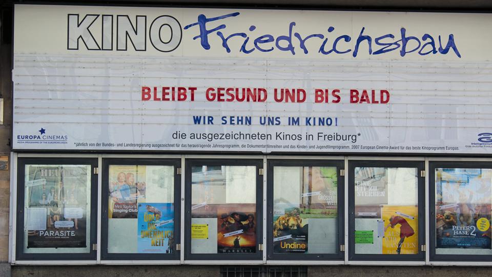 Kino Friedrichsbau von außen