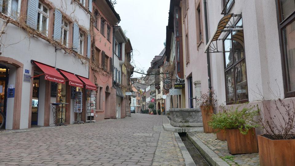 Konviktstrasse in Freiburg