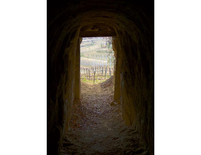 Lösstunnel von innnen