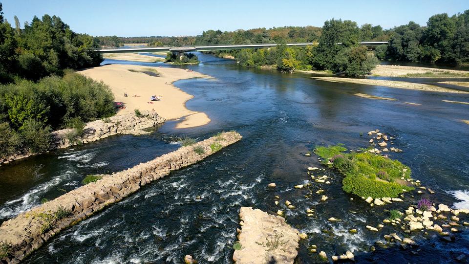 Loire-Fluss-Frankreich