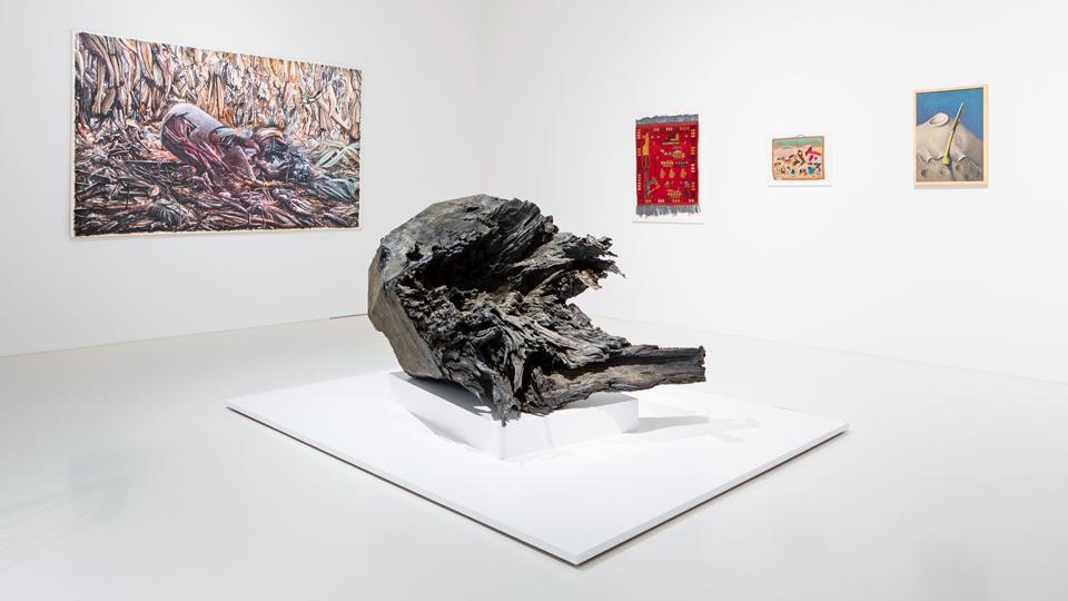 Kunstwerk: Die Zerstörung der Umwelt